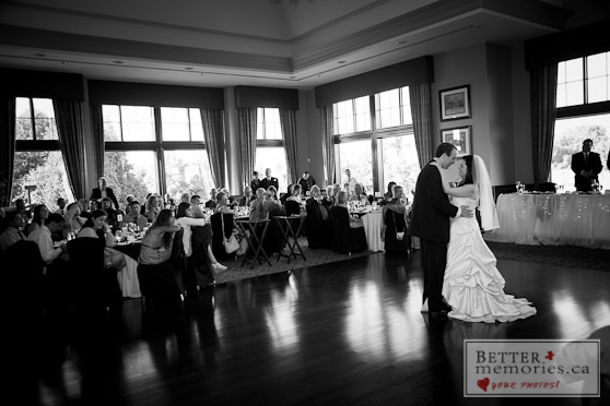 Bride and Groom's First Dance Together as a Married Couple