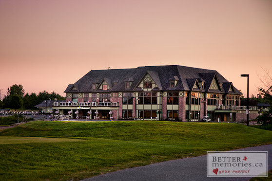 Deer Creek Golf Clubhouse at Sunset