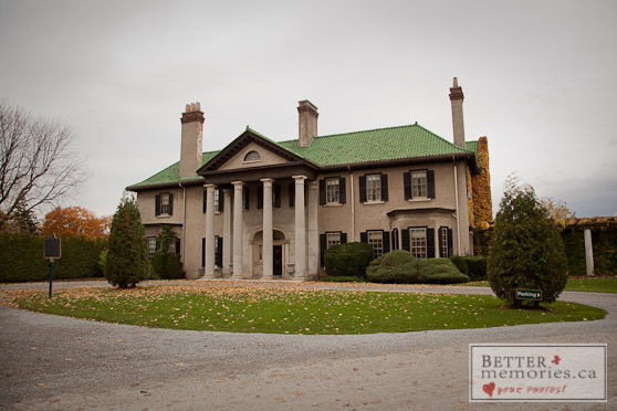 The Front of Parkwood Estate