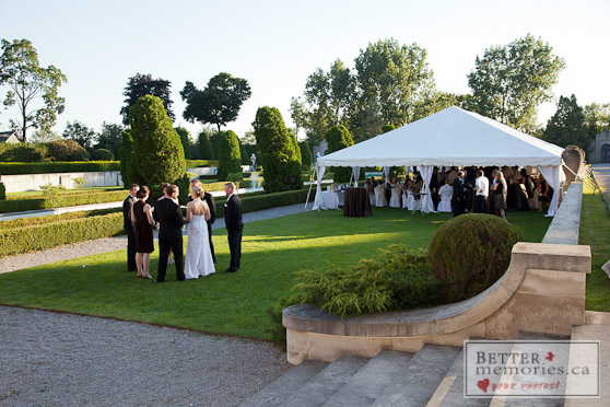 Outdoor Wedding Reception at Parkwood Estate