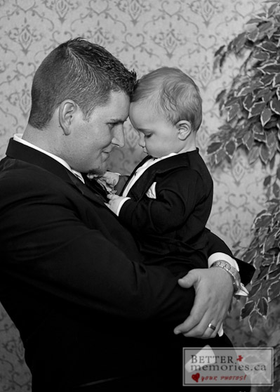 Groom and Boy