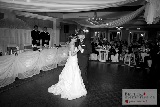 First Dance During the Reception